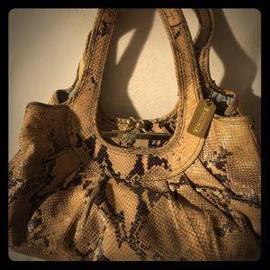 Coach Python Hobo Handbag